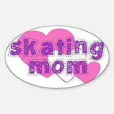 Skating Mom 3 Sticker (Oval)