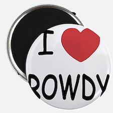 I heart ROWDY Magnet