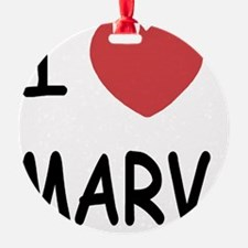 I heart MARV Ornament