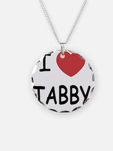 I heart TABBY Necklace