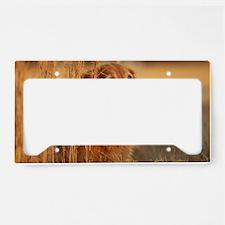 Golden Retriever License Plate Holder