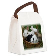 Basket full of Bunnies Canvas Lunch Bag