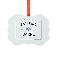 Barre Ornament