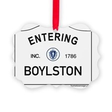 Boylston Ornament
