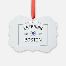 Boston Ornament