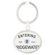 Bridgewater Oval Keychain