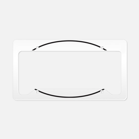Red HOG Sticker License Plate Holder