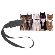Cats Luggage Tag