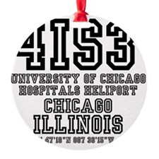 UNIVERSITY AIRPORT CODES - 4is3 - u Ornament