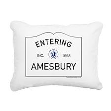 Amesbury Rectangular Canvas Pillow