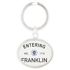 Franklin Oval Keychain