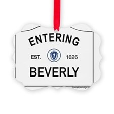 Beverly Ornament