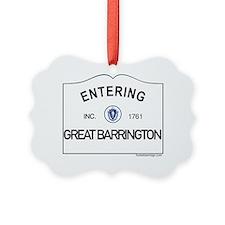Great Barrington Picture Ornament