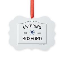 Boxford Ornament