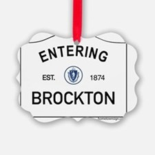 Brockton Ornament