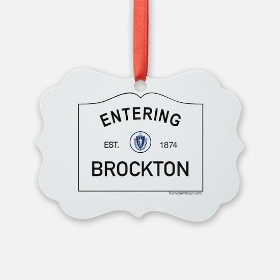 Brockton Ornament