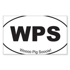 Black WPS Sticker Decal
