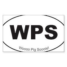 Black WPS Sticker Decal