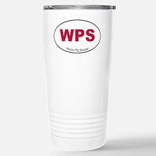 Red WPS Sticker Travel Mug