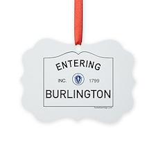 Burlington Ornament
