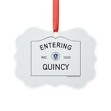 Quincy Ornament
