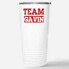 Team Gavin Stainless Steel Travel Mug