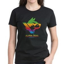 Alpha Dog Color Bars Logo Tee