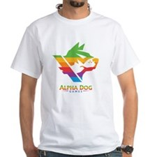 Alpha Dog Color Bars Logo Shirt
