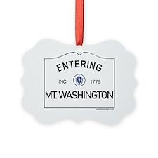 Mt. Washington Ornament