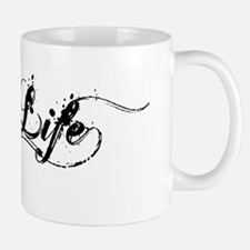 Black Hog Life Sticker Mug