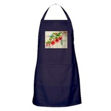 Hummingbirds in Fuschia Garden 2 Apron (dark)