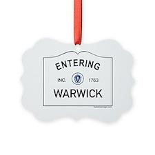 Warwick Ornament