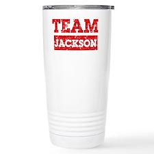 Team Jackson Travel Mug