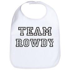 Team ROWDY Bib