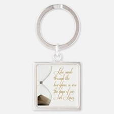Days of our Twi-Lives Square Keychain