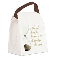 Days of our Twi-Lives Canvas Lunch Bag