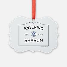 Sharon Ornament