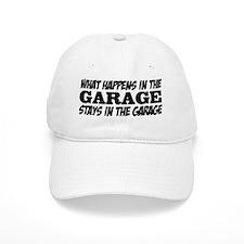 What Happens in the Garage Baseball Cap