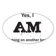 Yes, I AM (black) Decal