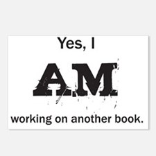 Yes, I AM (black) Postcards (Package of 8)