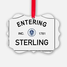 Sterling Ornament