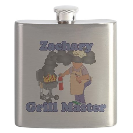 Grill Master Zachary Flask