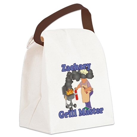 Grill Master Zachary Canvas Lunch Bag