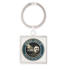 Fast And Furious Cover-up Square Keychain
