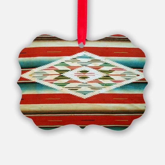 Old Mexican Serape Shoulder Bag Ornament