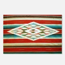 Old Mexican Serape Should Postcards (Package of 8)