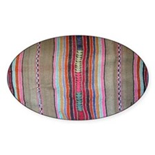 Peruvian Textile Shoulder Bag Decal