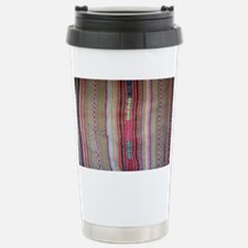 Peruvian Textile Shoulder Bag Travel Mug
