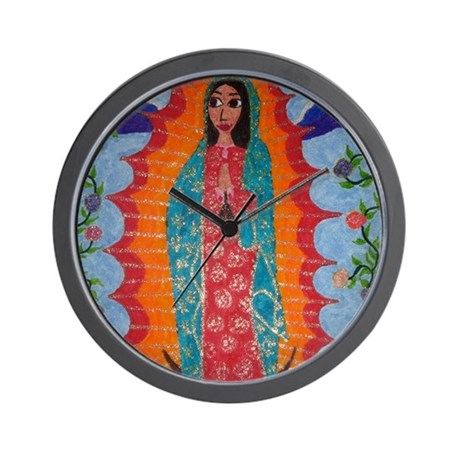 Our Lady of Guadalupe Balloon Wall Clock