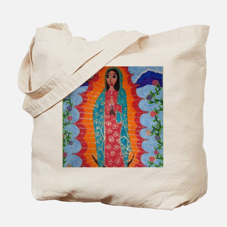 Our Lady of Guadalupe Balloon Tote Bag